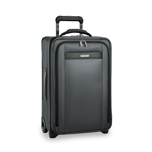 Briggs & Riley Transcend Tall Carry-On Expandable Upright - Slate | MEGO