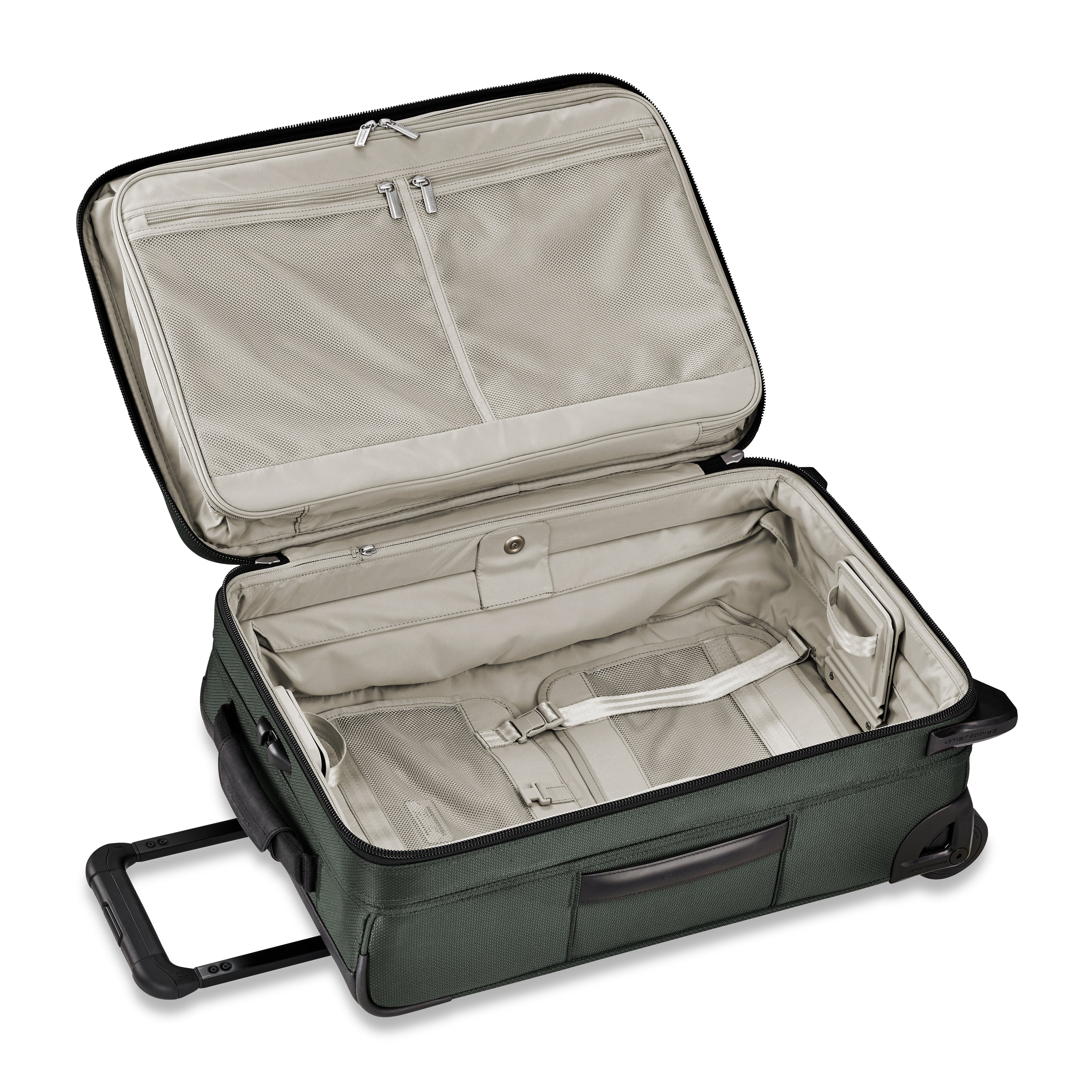 Briggs & Riley Transcend Tall Carry-On Expandable Upright - Rainforest | MEGO