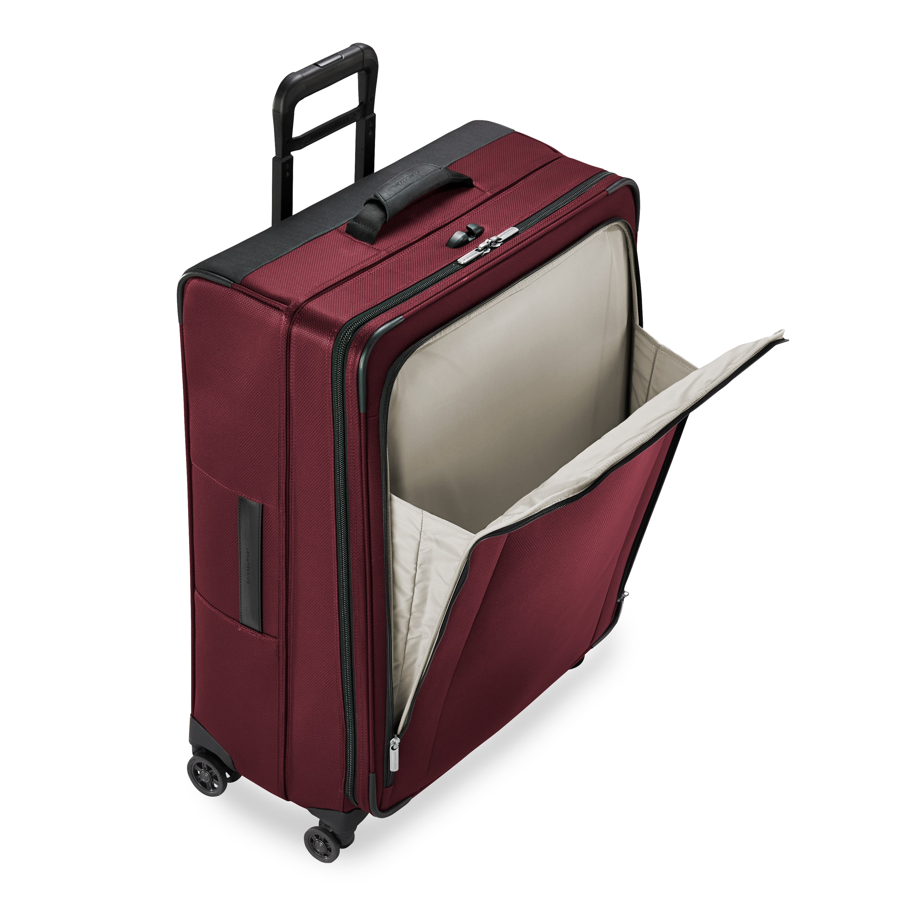 Briggs & Riley Transcend Large Expandable Spinner - Merlot | MEGO