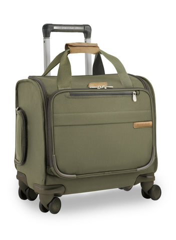 "Briggs & Riley Baseline 19"" Commuter Expandable Upright - Olive"