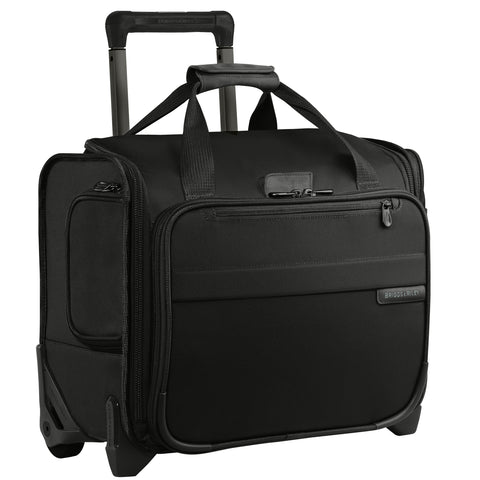 "Briggs & Riley Baseline 11"" Expandable Cabin Bag - Black"