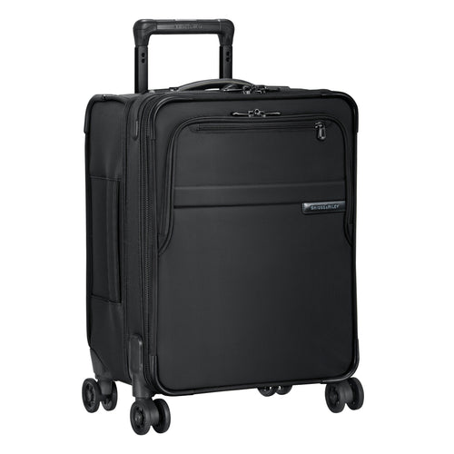 "Briggs & Riley Baseline 19"" Commuter Expandable Spinner - Black"