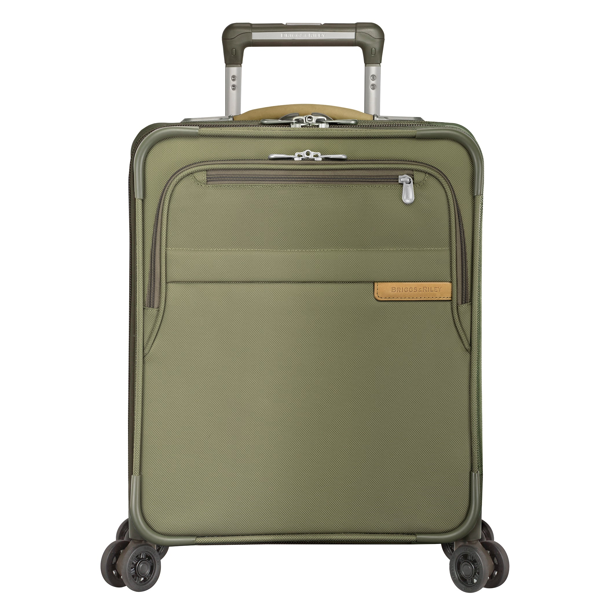 "Briggs & Riley Baseline 19"" Commuter Expandable Spinner - Olive"