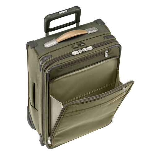"Briggs & Riley Baseline 19"" Commuter Expandable Upright - Olive 