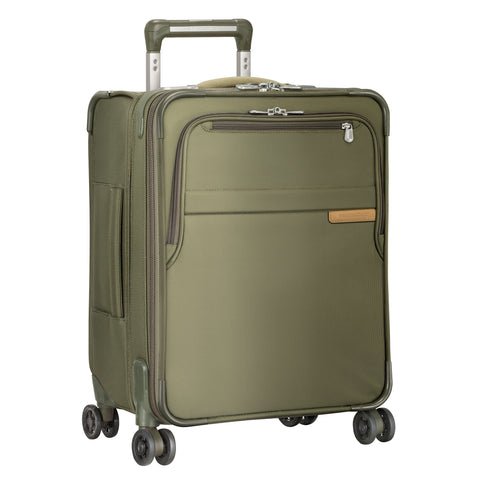 "Briggs & Riley Baseline 22"" Domestic Carry-On Expandable Upright - Navy Blue"