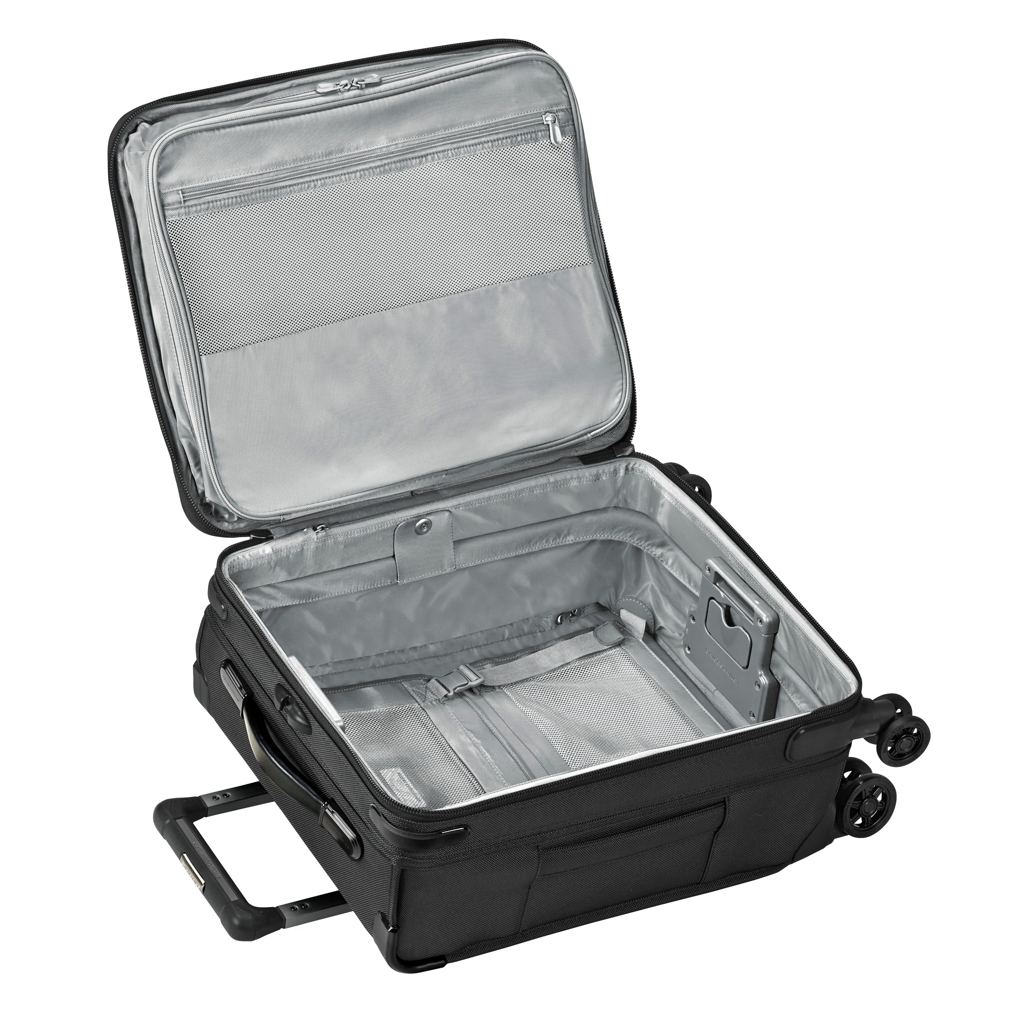 "Briggs & Riley Baseline 21"" International Carry-On Expandable Wide-body Spinner - Black 