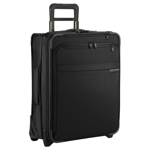"Briggs & Riley Baseline 22"" Domestic Carry-On Expandable Spinner - Navy Blue"