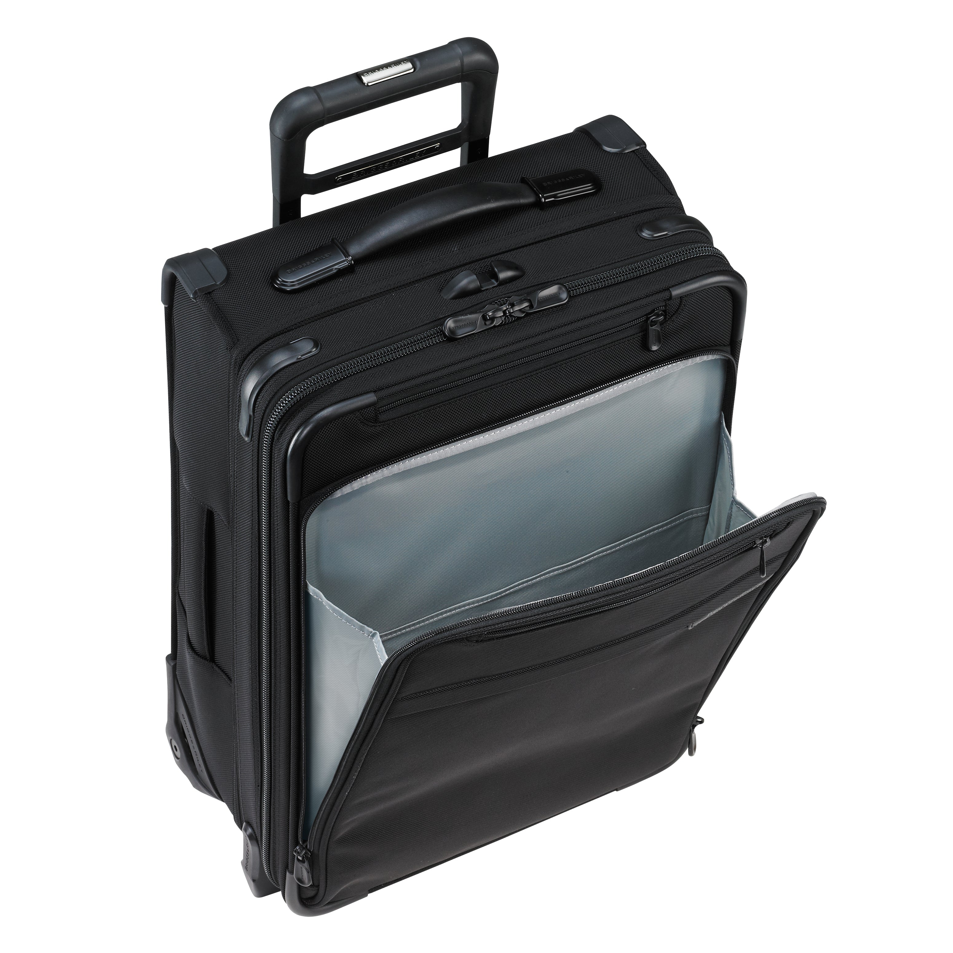 "Briggs & Riley Baseline 21"" International Carry-On Expandable Wide Body Upright - Black 