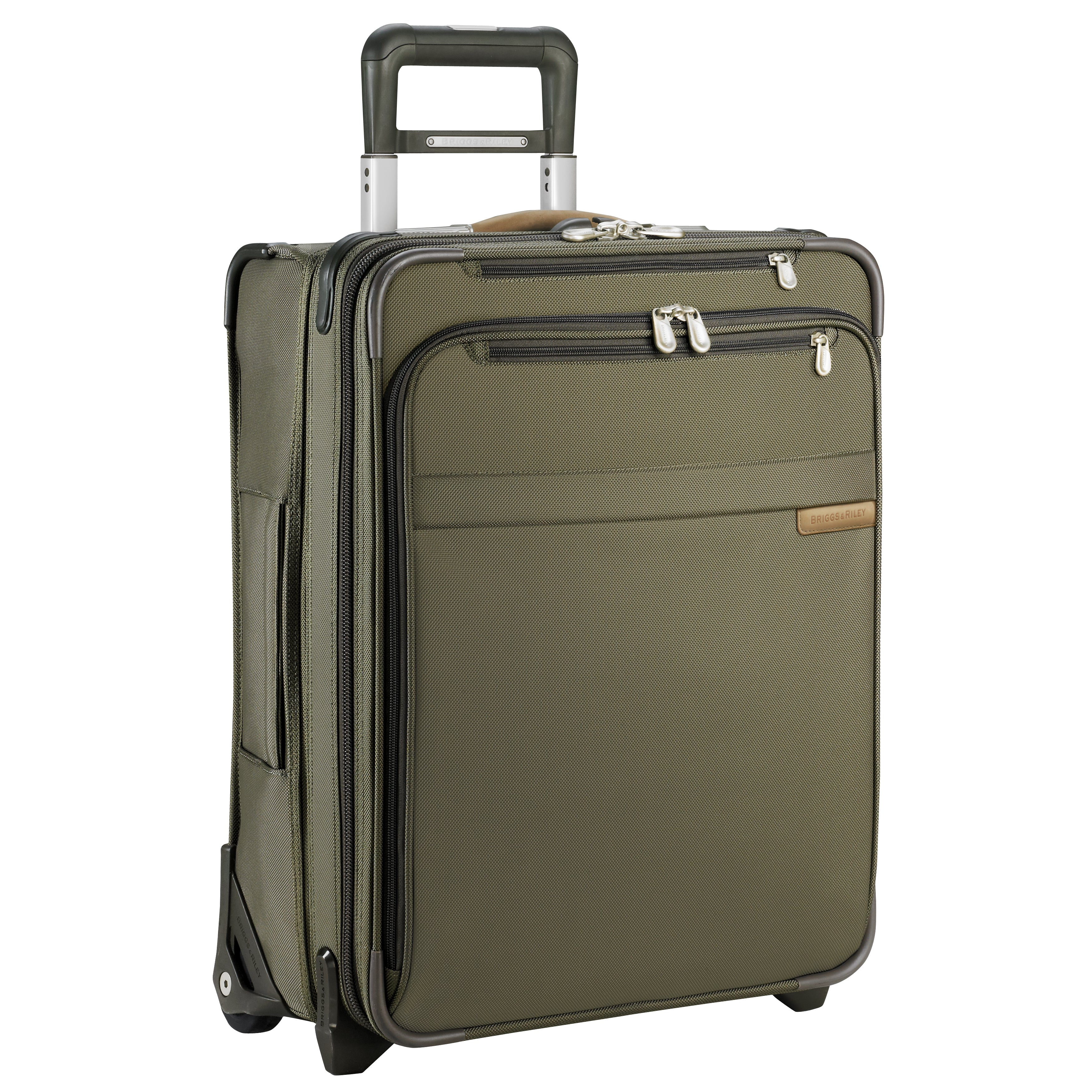 "Briggs & Riley Baseline 21"" International Carry-On Expandable Wide Body Upright - Olive"