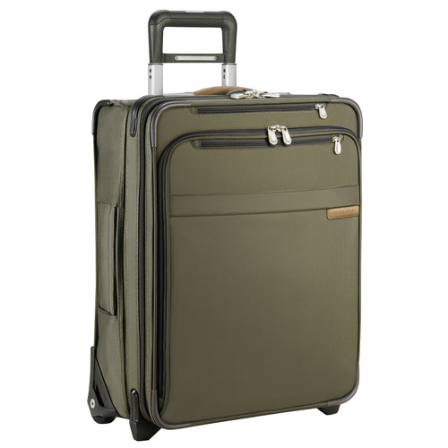 "Briggs & Riley Baseline 21"" International Carry-On Expandable Wide Body Upright - Olive 