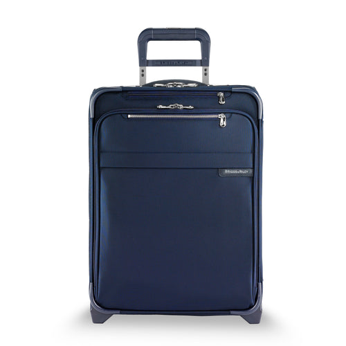 "Briggs & Riley Baseline 21"" International Carry-On Expandable Wide Body Upright - Navy 