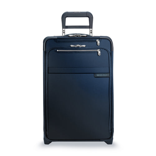 "Briggs & Riley Baseline 22"" Domestic Carry-On Expandable Upright - Navy Blue 