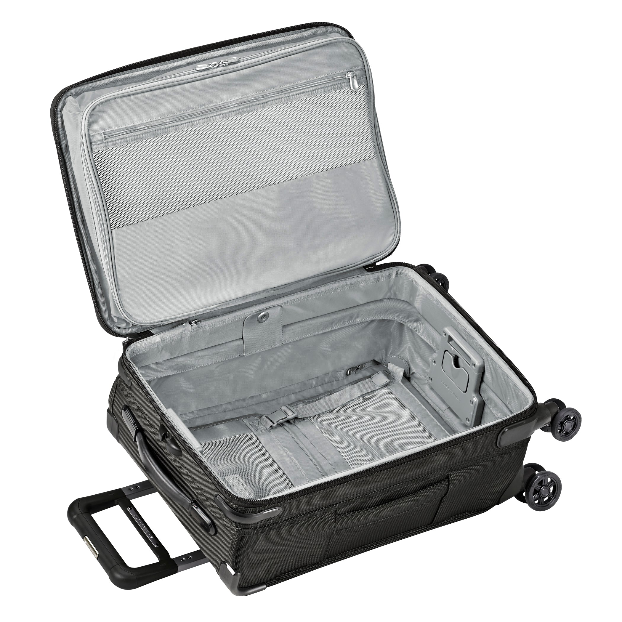 "Briggs & Riley Baseline 22"" Domestic Carry-On Expandable Spinner - Black 
