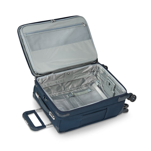 "Briggs & Riley Baseline 22"" Domestic Carry-On Expandable Spinner - Navy Blue 