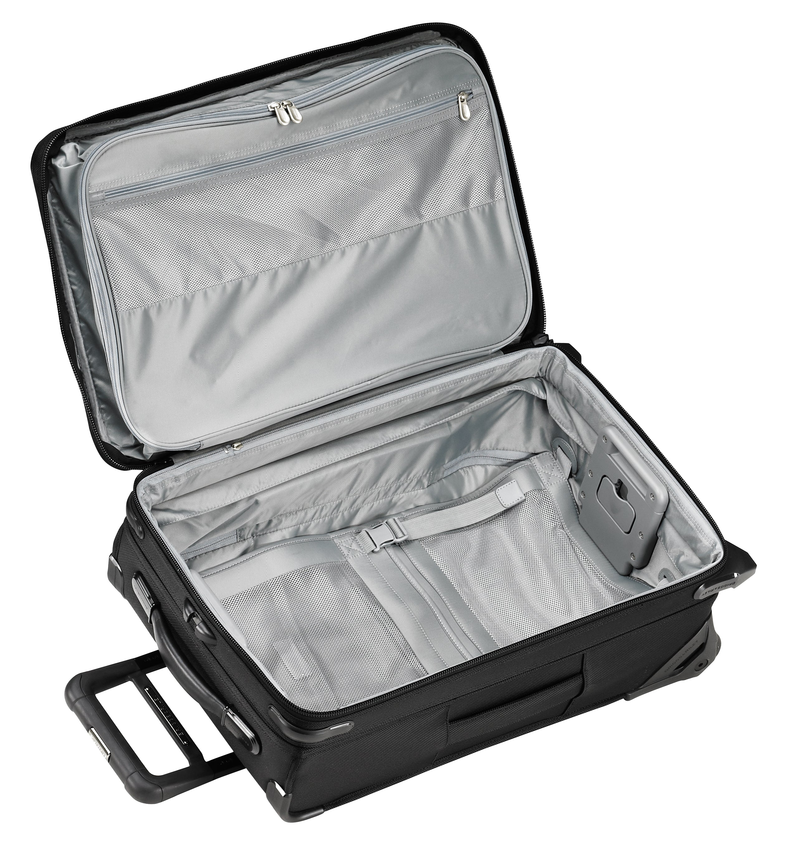 "Briggs & Riley Baseline 22"" Domestic Carry-On Expandable Upright - Black 