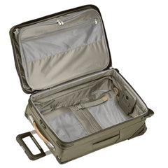 "Briggs & Riley Baseline 22"" Domestic Carry-On Expandable Upright - Olive 