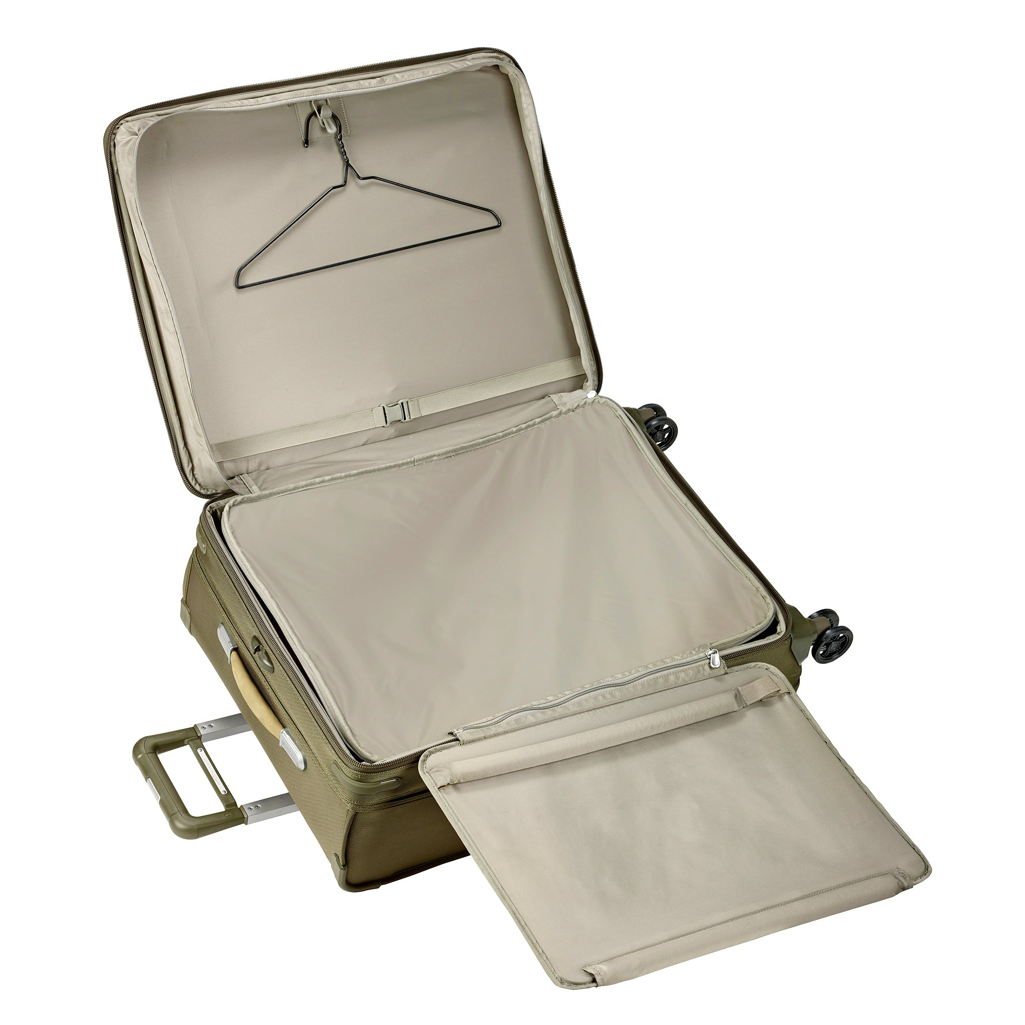"Briggs & Riley Baseline 28"" Large Expandable Spinner - Olive"