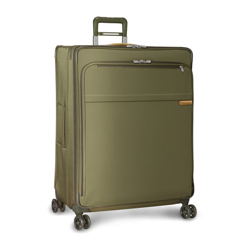 "Briggs & Riley Baseline 31"" Extra Large Expandable Spinner - Olive 