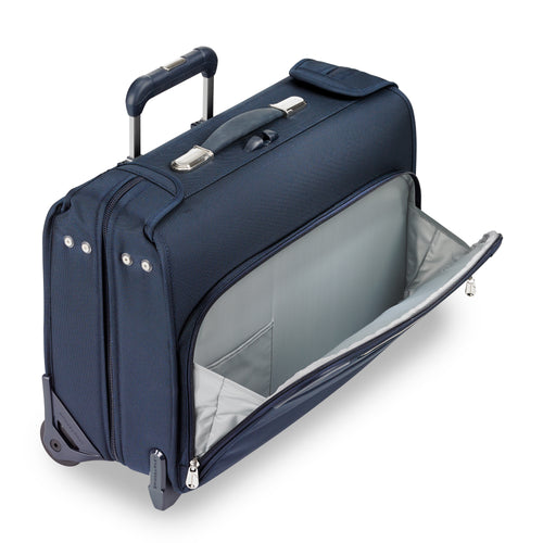 "Briggs & Riley Baseline 15"" Carry-On Wheeled Garment Bag - Navy 