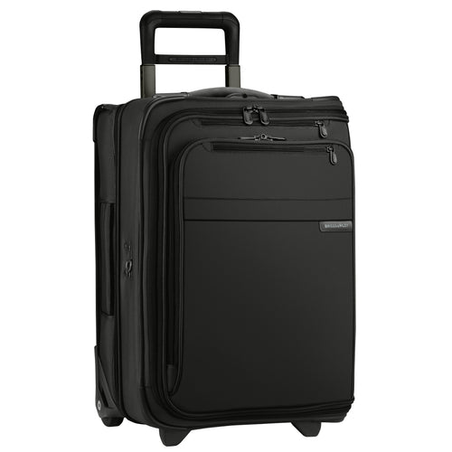 "Briggs & Riley Baseline 22"" Domestic Carry-On Upright Garment Bag - Black 