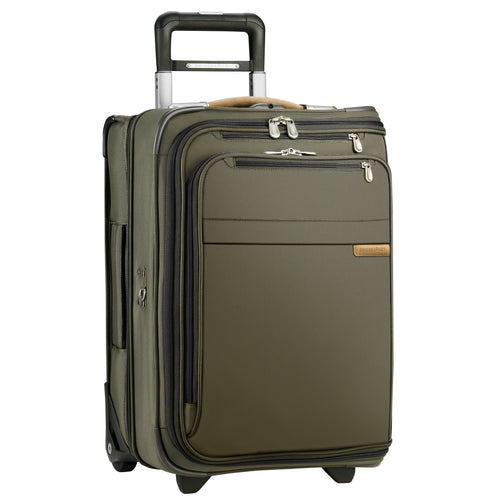 "Briggs & Riley Baseline 22"" Domestic Carry-On Upright Garment Bag - Olive 