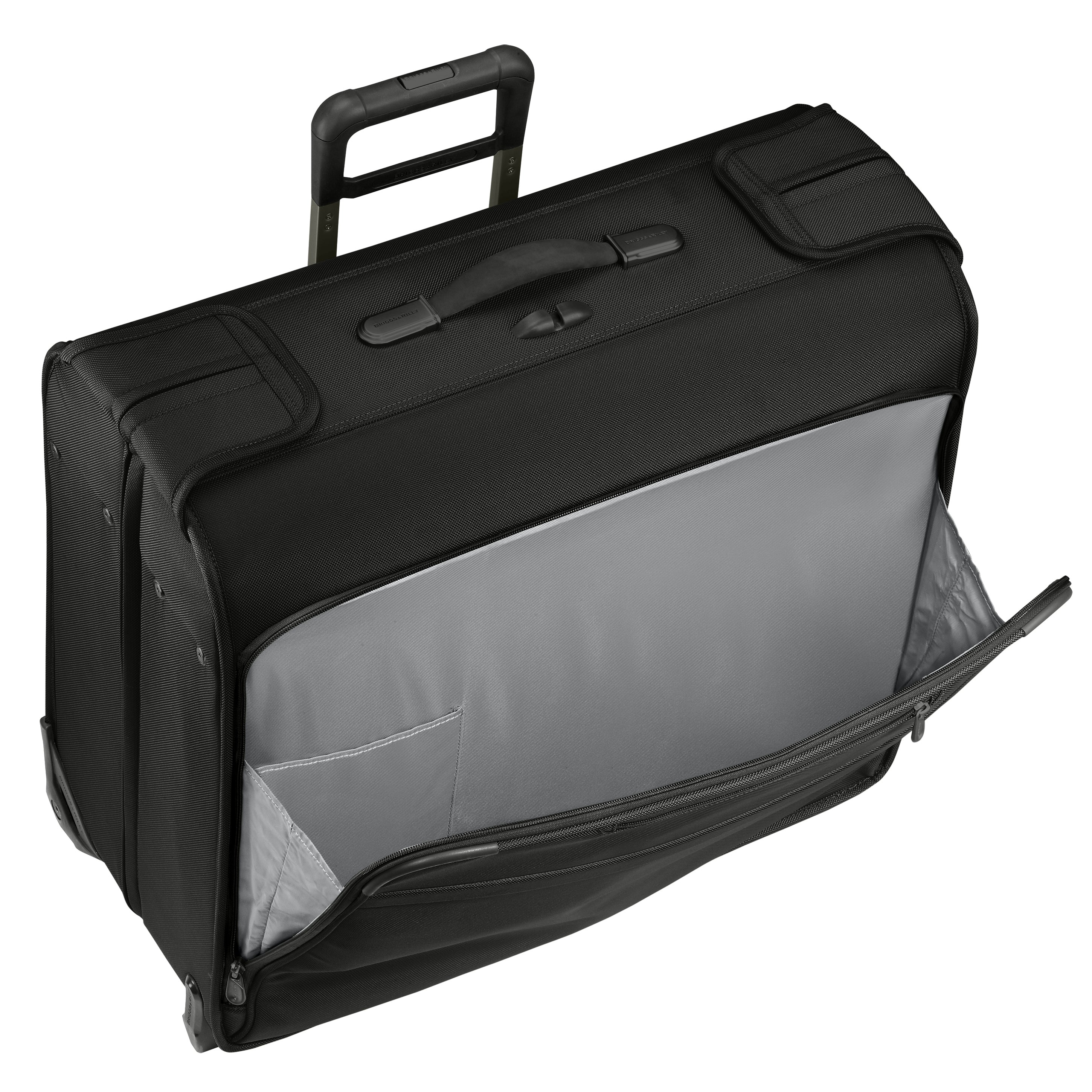 "Briggs & Riley Baseline 21"" Deluxe Wheeled Garment Bag -Black 