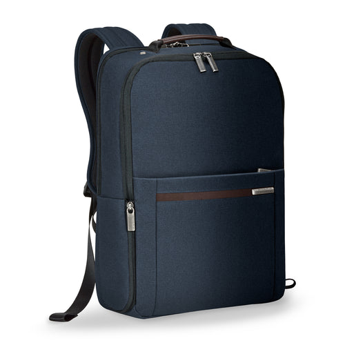 Briggs & Riley Kinzie Street Medium Backpack - Navy | MEGO