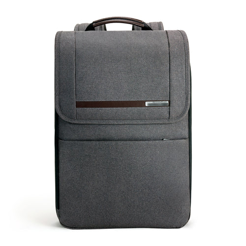Briggs & Riley Kinzie Street Flapover Expandable Backpack - Grey | MEGO