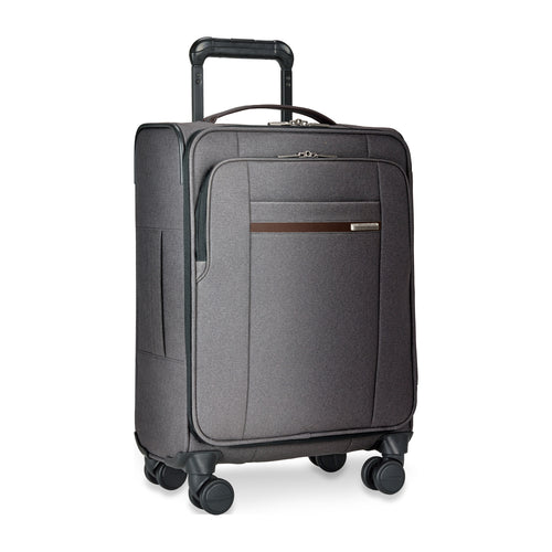 Briggs & Riley Kinzie Street International Carry-On Spinner - Grey | MEGO