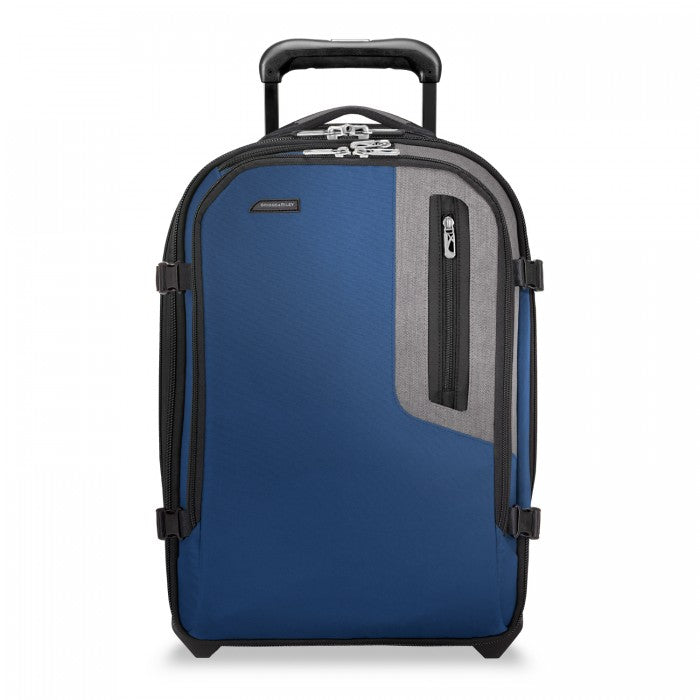 Briggs & Riley BRX Explore Commuter Expandable Upright - Blue | MEGO