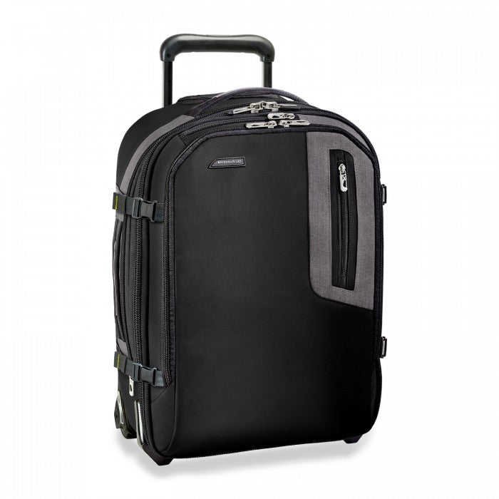 Briggs & Riley BRX Explore Commuter Expandable Upright - Black | MEGO