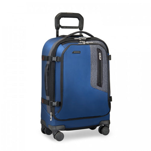 Briggs & Riley BRX Explore Domestic Carry-On Expandable Spinner - Blue | MEGO