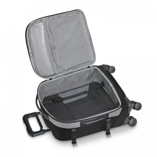 Briggs & Riley BRX Explore Domestic Carry-On Expandable Spinner - Black | MEGO