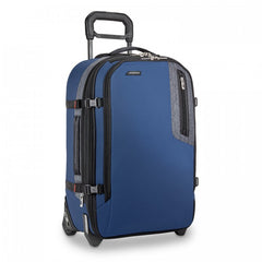 Briggs & Riley BRX Explore Domestic Expandable Upright - Blue | MEGO