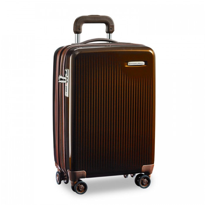 "Briggs & Riley Sympatico 21"" International Carry-On Expandable Spinner - Bronze 
