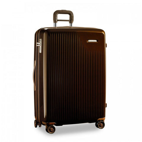 Briggs & Riley Sympatico Domestic Carry-On Expandable Spinner- Fire