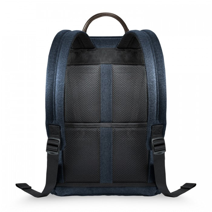 Briggs & Riley Kinzie Street Small Wide-mouth Backpack - Navy | MEGO