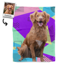 Pet Art - Custom - Blanket