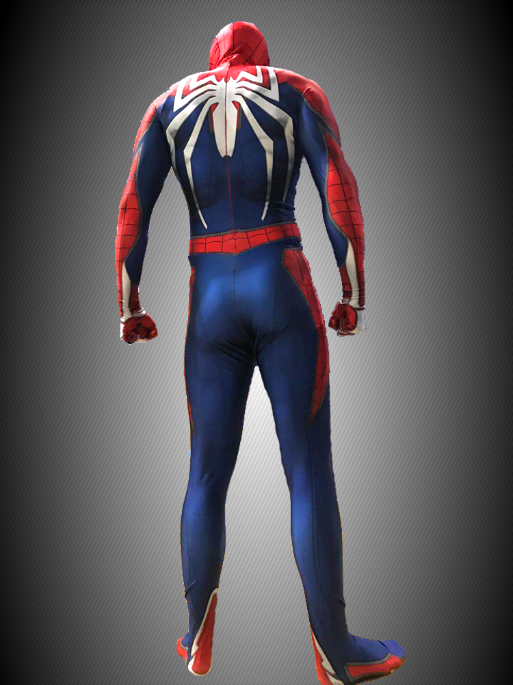 SPIDER-MAN COSPLAY COSTUME SUIT (PS4 INSOMNIAC VIDEO GAME STYLE)