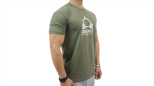 District Barbell - Original (Olive)