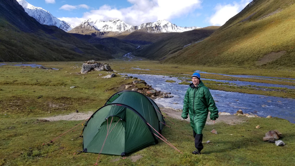 CozyBag tested in the China wilderness