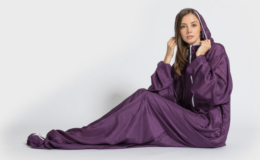 Free movement with our new Silk sleeping bag liner