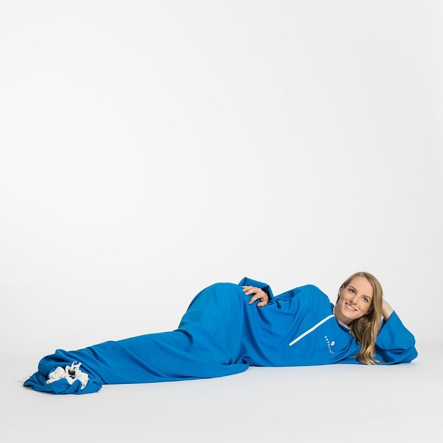 Bergstop MicroLiner: lightweight indoor sleeping bag with arms