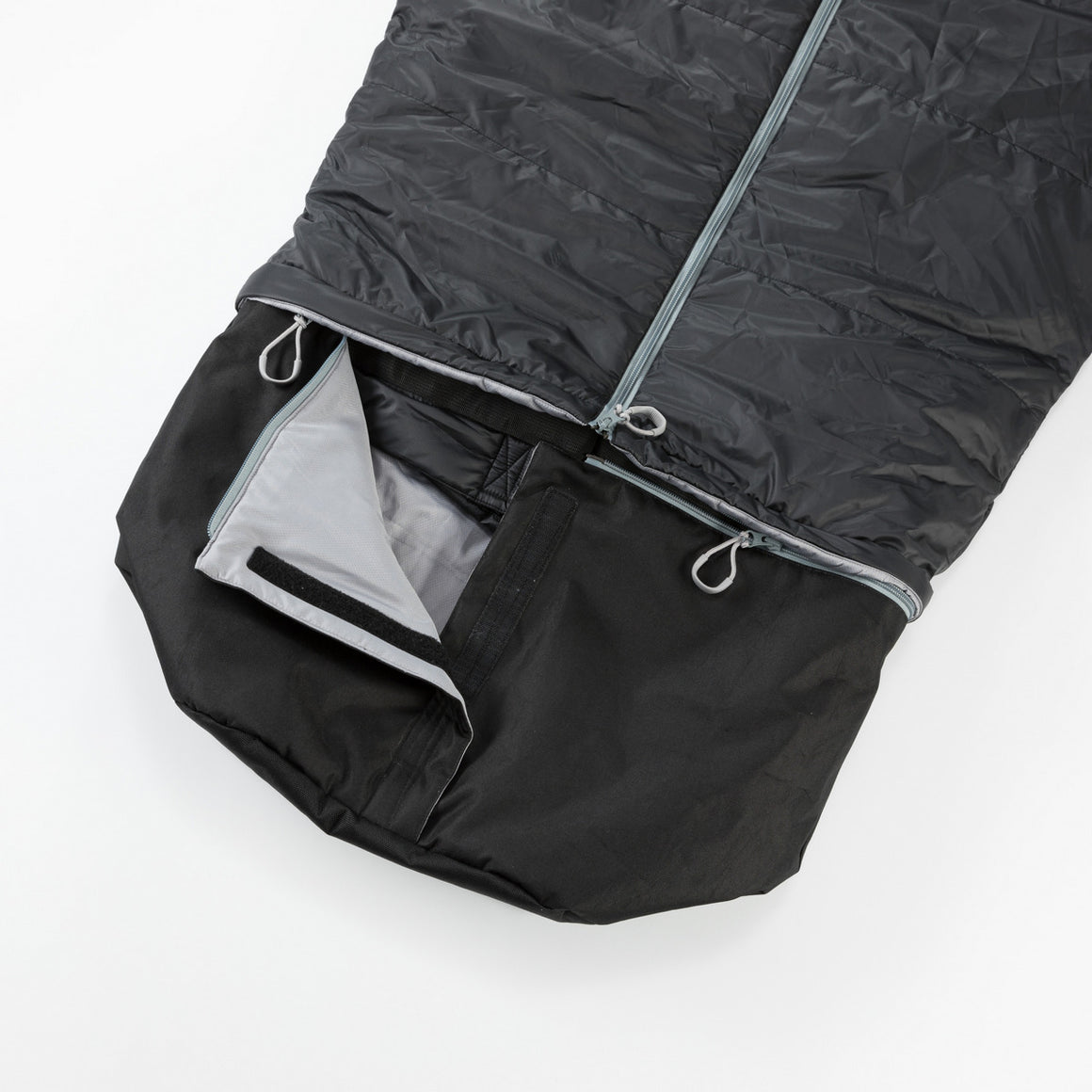 CozyBag Zippy by Bergstop: extra large wearable sleeping bag