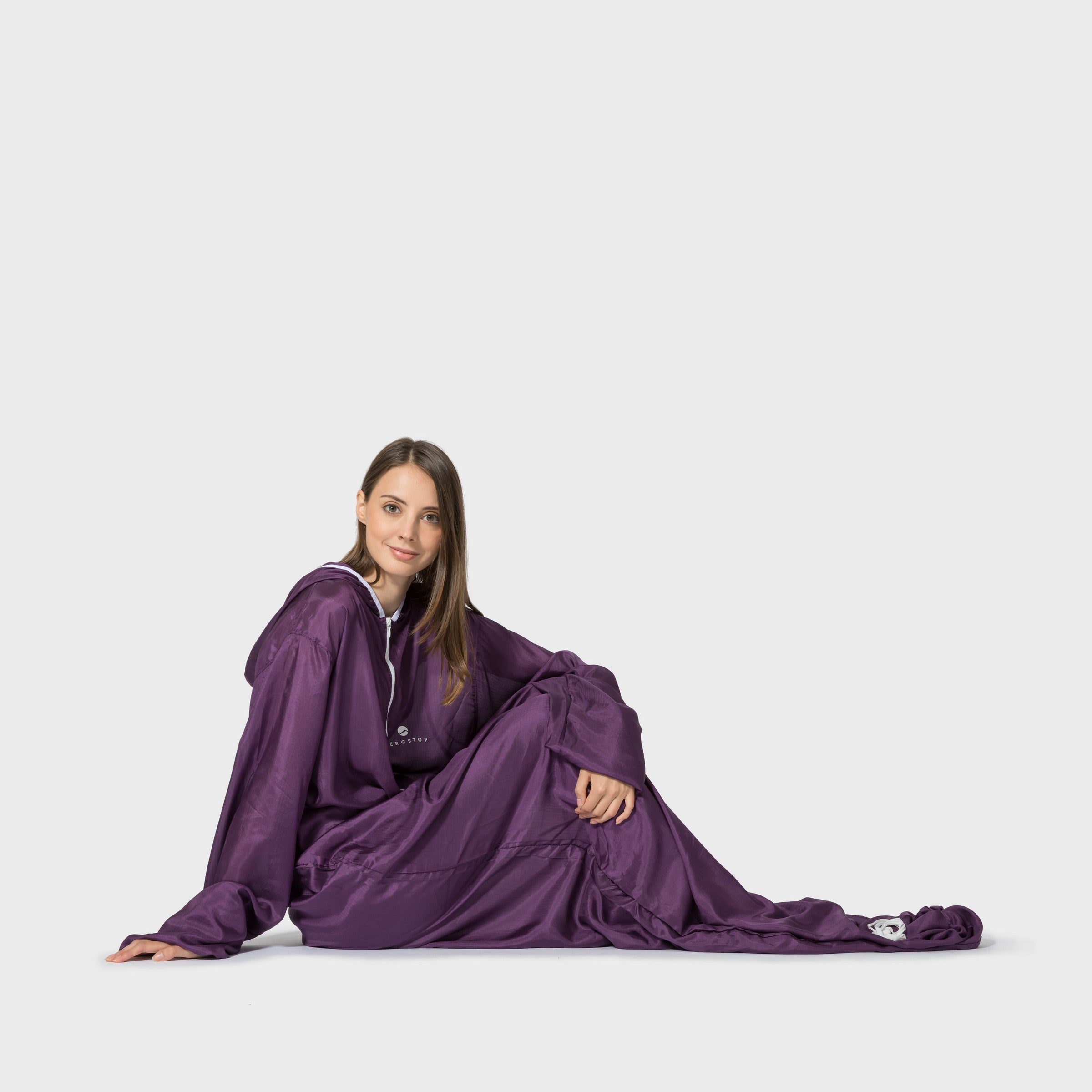Bergstop SilkLiner is a silk sleeping bag liner