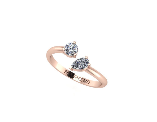 Diamonds Floating Ring