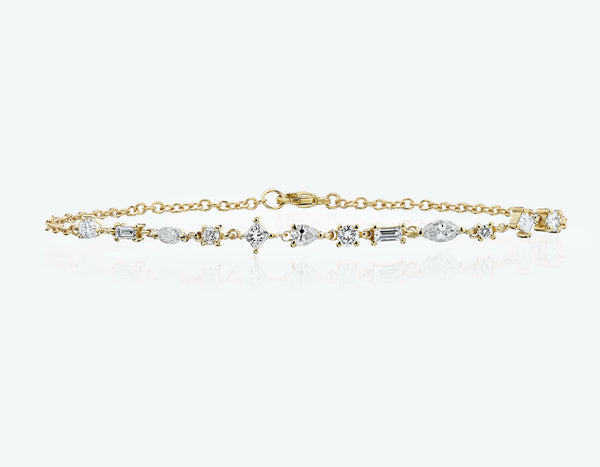 Dancing Diamonds Bracelet
