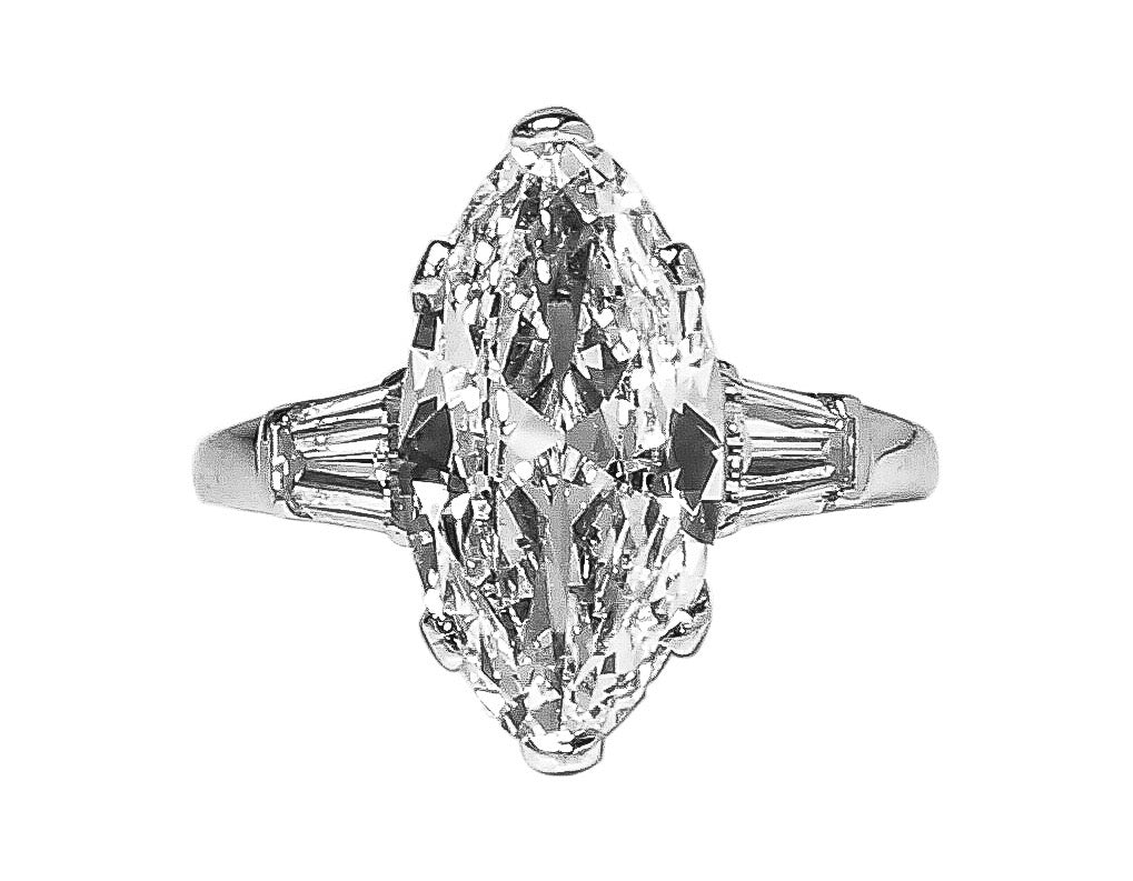 Marquise MOJ Signature Ring