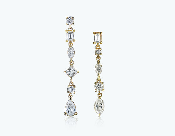 Dancing Diamonds Earrings