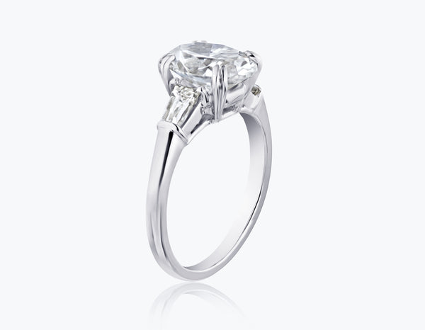 Oval MOJ Signature Ring